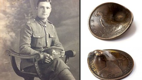 coin that saved soldiers life