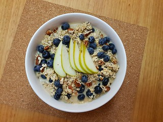 Blueberry Poppy Seed Overnight Oats from Coles Magazine
