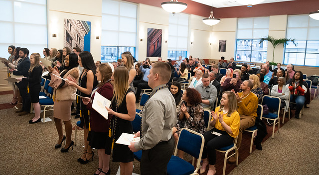 Alpha Phi Sigma National Criminal Justice Honor Society 2019 Induction