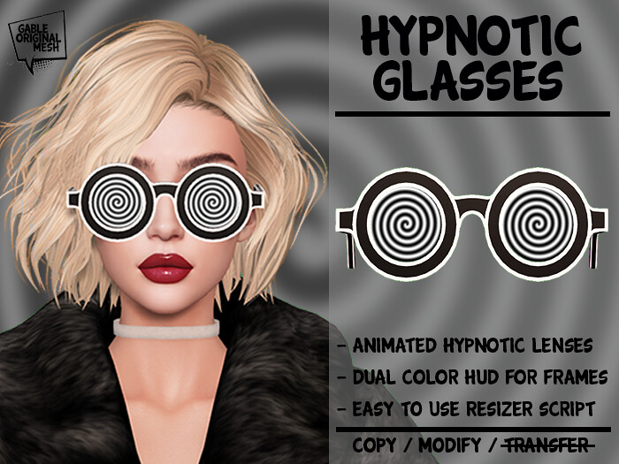 Animated Glasses – Hypnotic