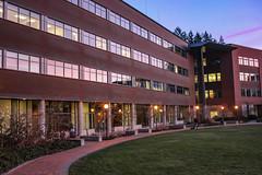 Communications Facility at Sunset