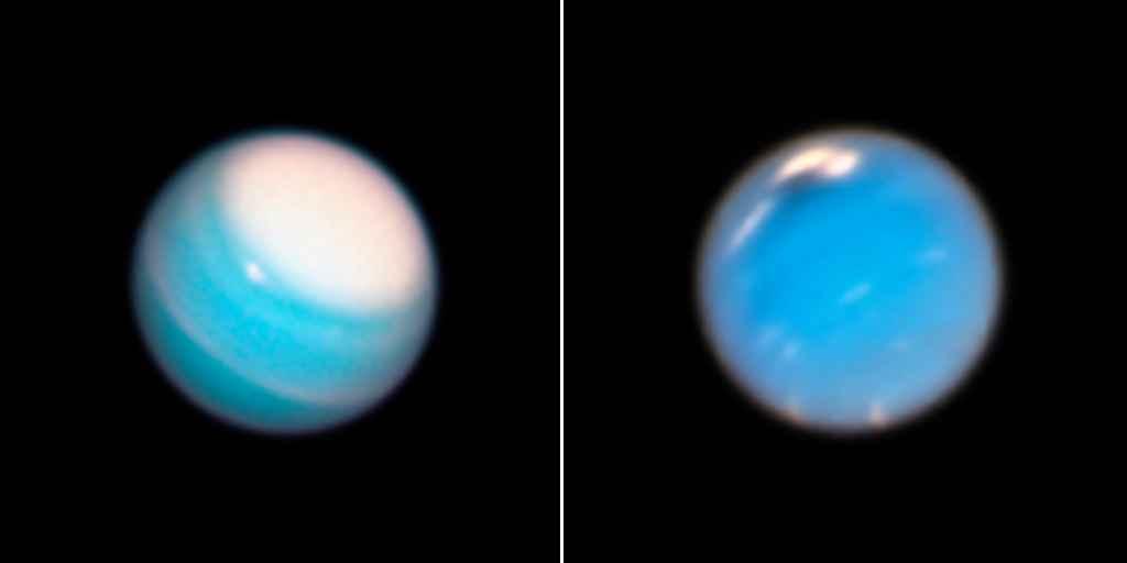 Des tempêtes font rages sur Uranus et Neptune