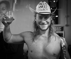 Dallas Naked Cowboy Portrait