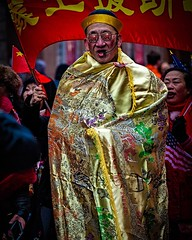 Parade Celebrant . . Shot during Sunday's New Years Parade in Chinatown, NYC . . . #parader #nowords #yearofthepig #chinatownnyc #lunarnewyear #parade #newyearparade #neyorkcity #Chinatown #chrislordnyc #chrislord #pixielatedpixels #photoshop #nyc_photogr