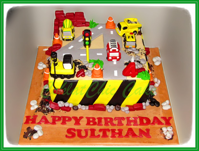 Cake Contruction SULTHAN 24 cm