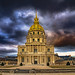 View of the Dôme des Invalides which is a Part of National Institution of Invalides, Paris, France-70a