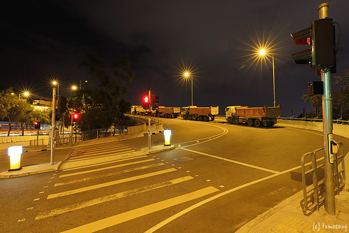 Lung Kui Road at Night