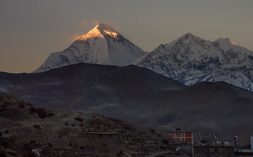 Dhaulagiri from near Muktinath.