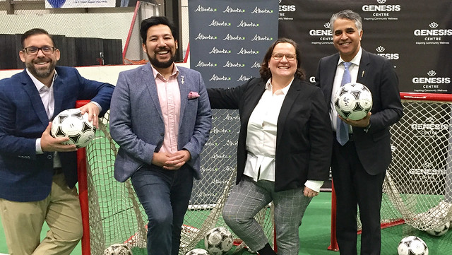 Genesis Centre gets new pitch