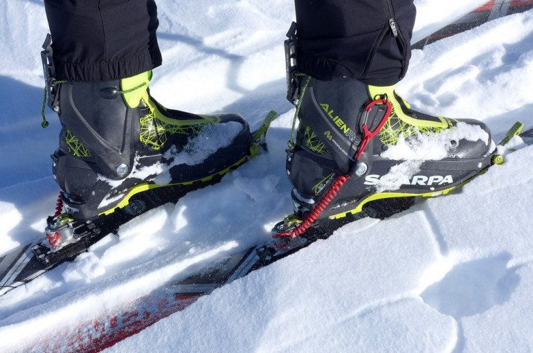 Skialpové boty Scarpa Alien RS