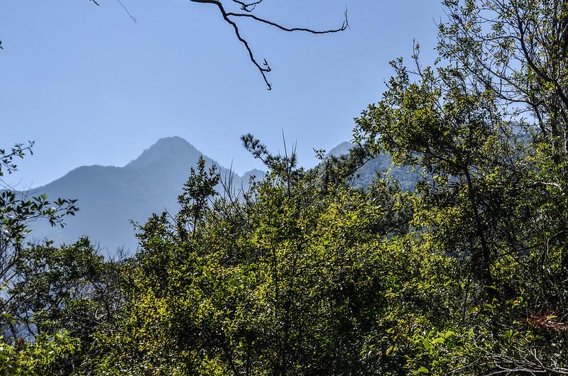 拉克斯山東南遠眺斯拉巴庫山(左)、玉穗山主峰(右) 1