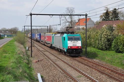 Omgeleide Lineas 2830 met Galarate-shuttle in Wijgmaal bij Leuven