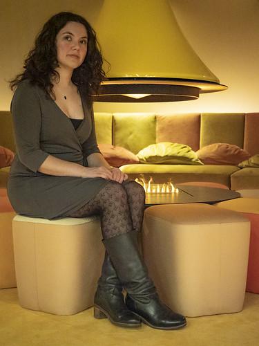 Laura, Rotterdam 2019: Fireplace