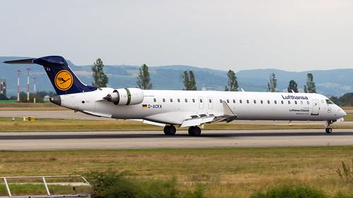 Bombardier CRJ-900LR D-ACKA Lufthansa CityLine