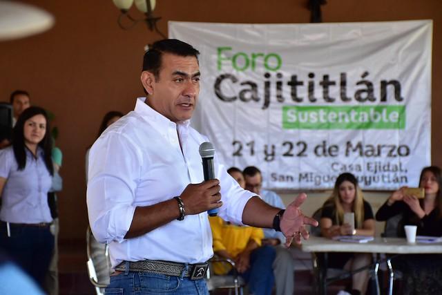 """El Presidente Salvador Zamora Asistió a las Mesas de Trabajo """"Cajititlán Sustentable"""""""