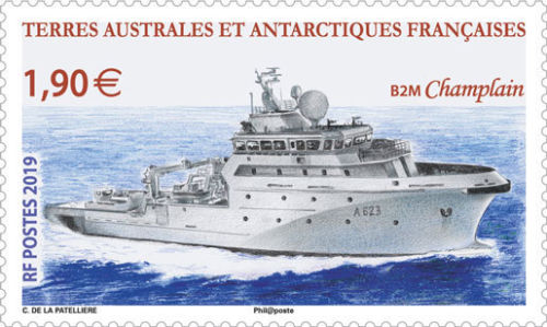 French Southern and Antarctic Lands - B2M 'Champlain' (January 2, 2019)