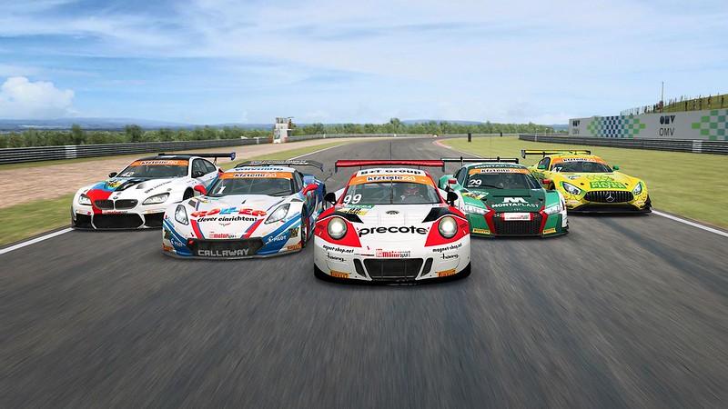 RaceRoom ADAC GT Masters 2018 Porsche 2