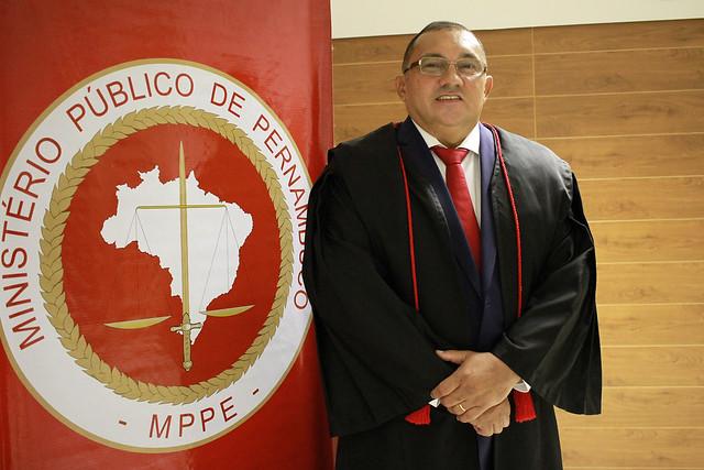 Posse do procurador-geral de Justiça de Pernambuco (PGJ-PE), Francisco Dirceu Barros