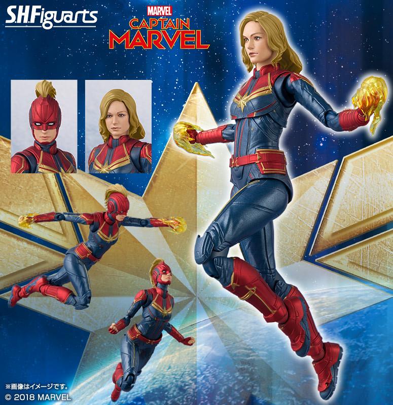 逆轉「無限」的關鍵力量,超強大的女英雄參戰!S.H.Figuarts《驚奇隊長》驚奇隊長 キャプテン・マーベル ft. 佛萊肯
