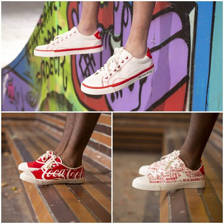 Bata Heritage and coca cola shoes