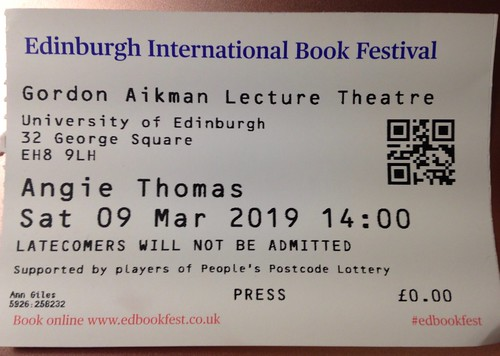 Angie Thomas ticket