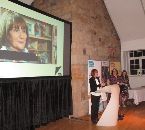 Theresa Breslin at Scottish Book Trust Awards