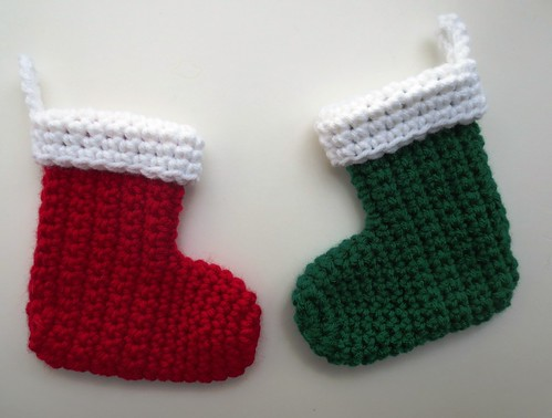 Cuffed Mini Christmas Stockings