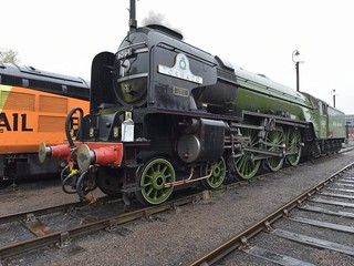 Tornado at Barrow Hill  Roundhouse