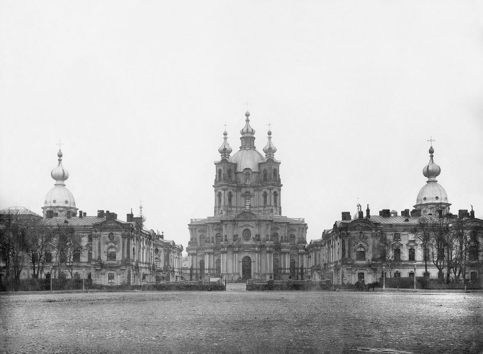 Смольный собор. 1900