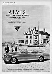 1960 Alvis Three Litre Drophead Coupe
