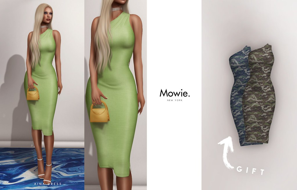 "Mowie. – ""Aina"" Dress @Très Chic"