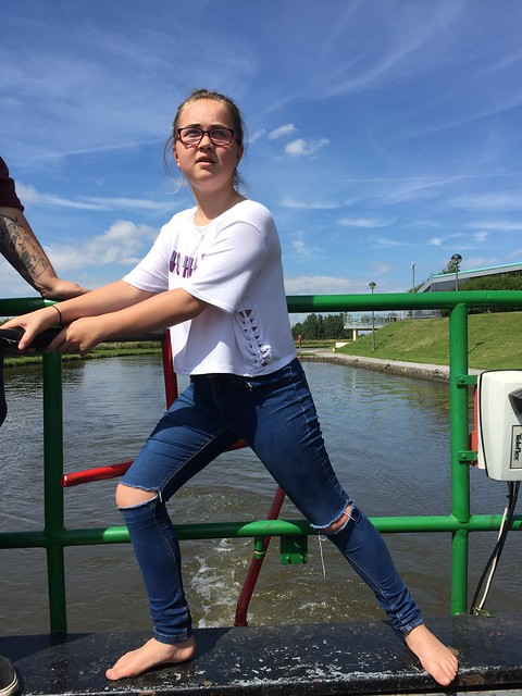 Cheshire young people's canal boat adventure