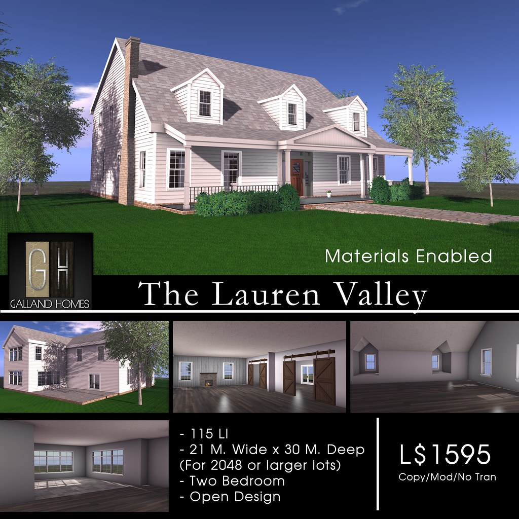 Lauren Valley by Galland Homes - TeleportHub.com Live!