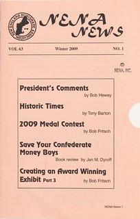 NENA News Winter 2009 cover