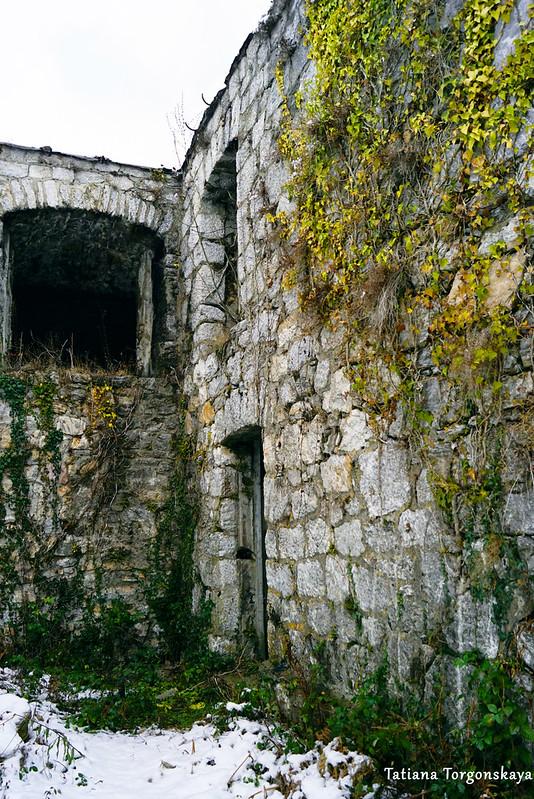 Фрагмент сооружения