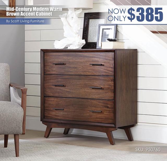 Mid-Century Modern Warm Brown Accent Cabinet_Scott Living_950760