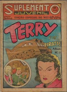 Suplemento Juvenil Terry e os Piratas Album #3