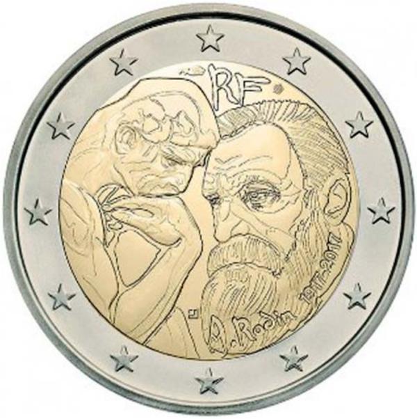 2 EURO Francúzsko 2017 - August Rodin