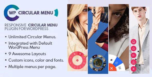 WP Circular Menu v1.0.0 - Responsive Circular Menu