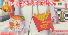 Junk Food - Burger & Fries Ad