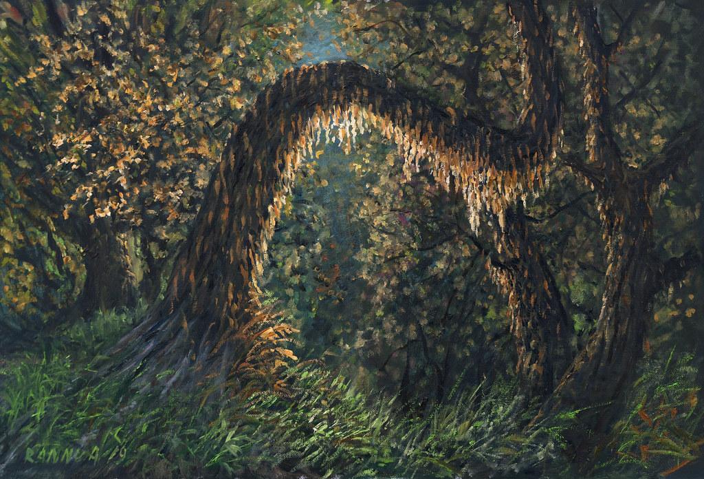 """""""MAGIC"""" oil-canvas 60-40 cm"""