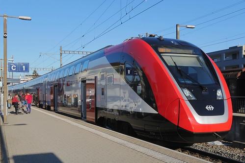 Heerbrugg - SBB FV-Dosto by Bombardier