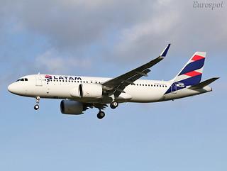F-WWDV Airbus A320 Neo Latam