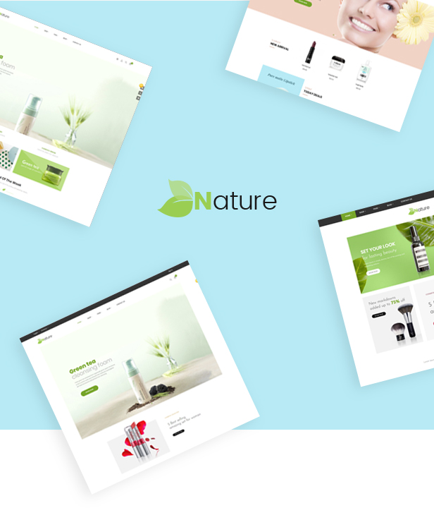 BOS Nature - comestic & beautiful prestashop 1.7.5.x theme
