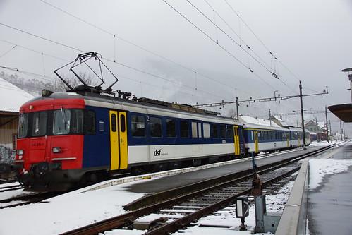 540 074 der DSF im Einsatz für die OeBB in Balsthal