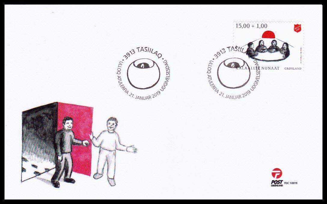 Greenland - The Salvation Army in Greenland (January 21, 2019) first day cover