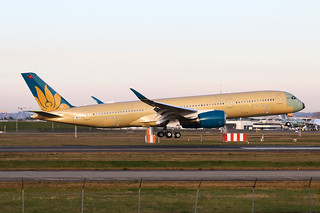 F-WZFZ Airbus A350 Vietnam Airlines