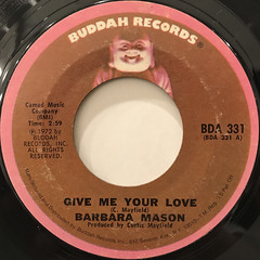 BARBARA MASON:GIVE ME YOUR LOVE(LABEL SIDE-A)