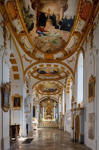 Wallfahrtskirche St. Peter und Paul (Seitenschiff)