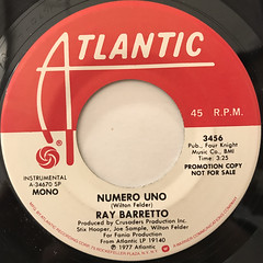 RAY BARRETTO:NUMERO UNO(LABEL SIDE-A)